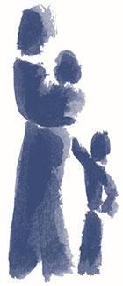 Frau und Kind